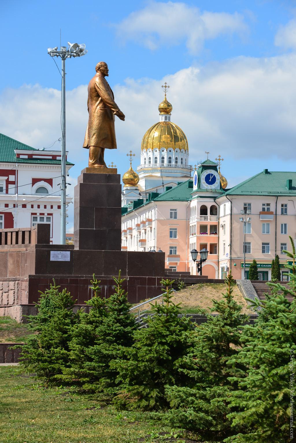 Саранск, памятник Ленину